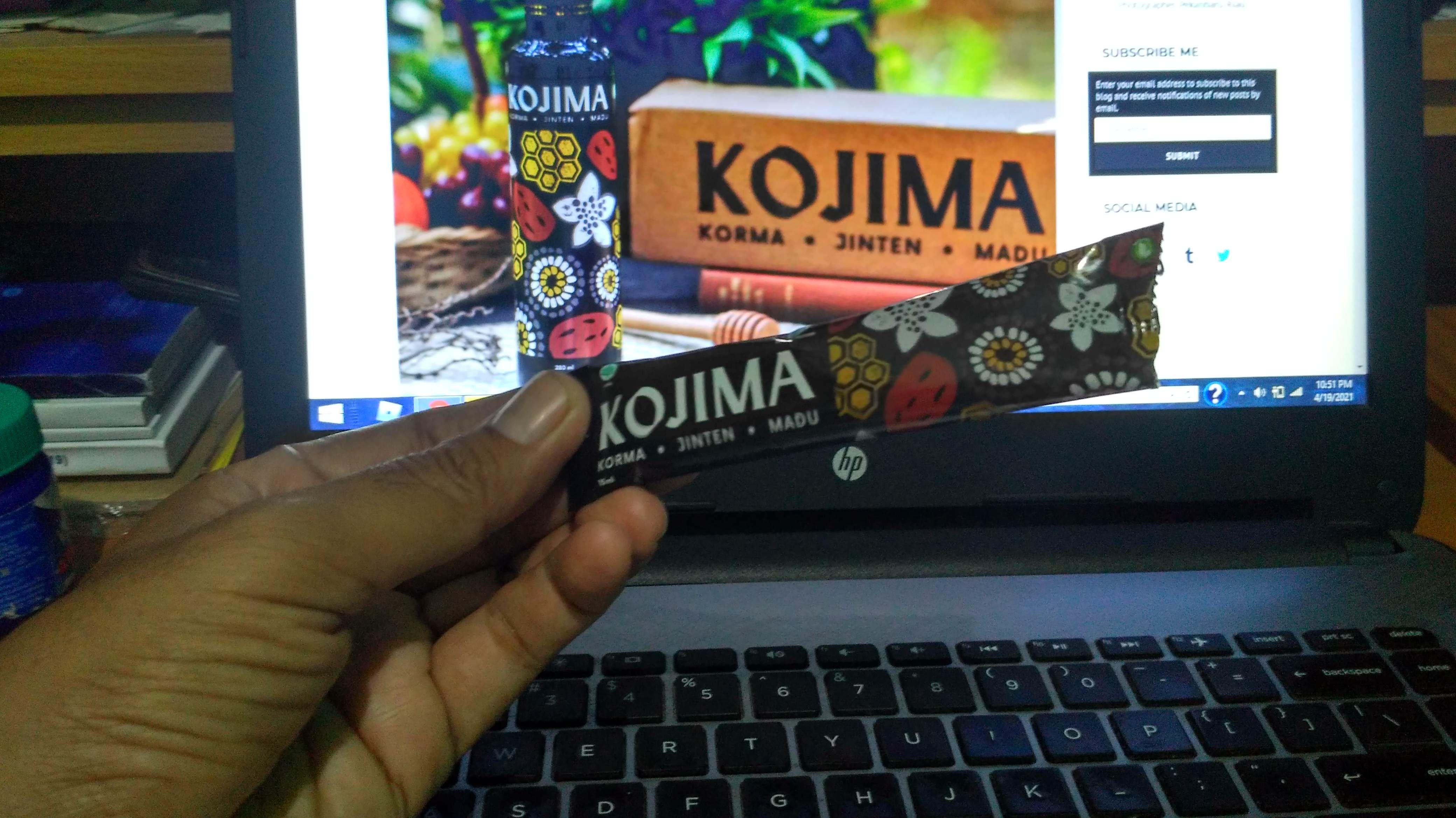 """Kojima Stick Pack, Pengisi """"Baterai Energi"""" Praktis Kala Bekerja Lembur dari Rumah"""