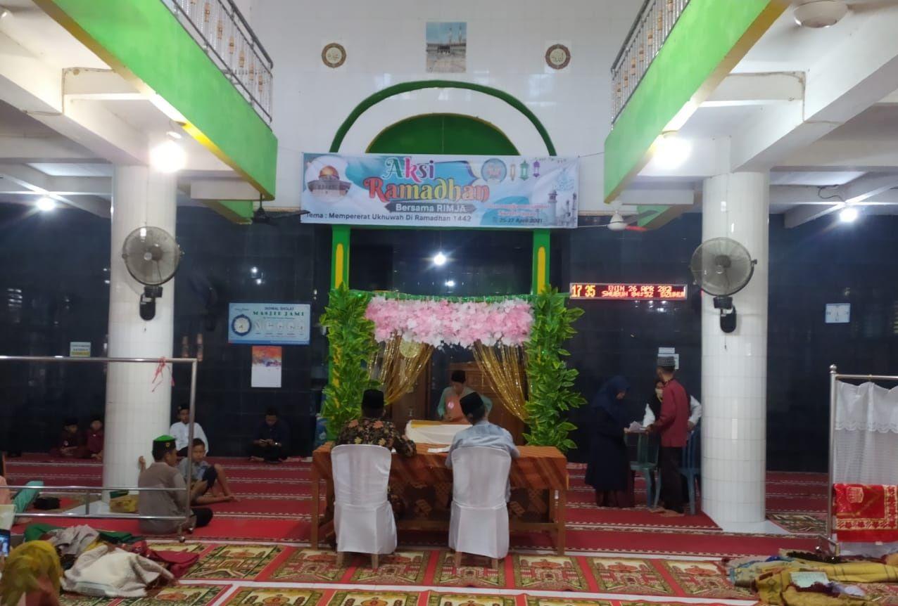 Semangat Remaja Masjid Jami' Seberang Piruko Tebar Manfaat Ramadan untuk Kemajuan Negeri