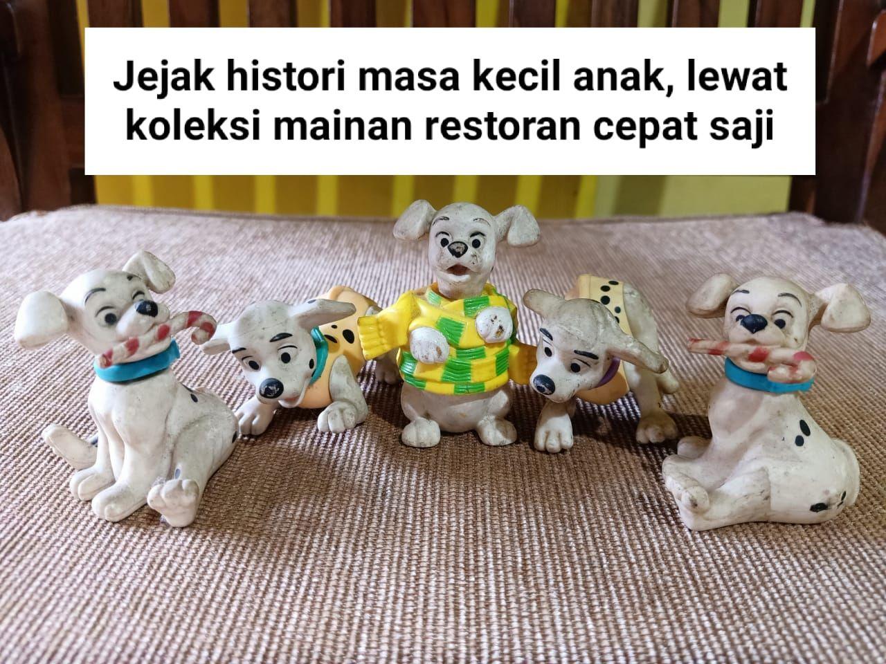 Jejak Histori Masa Kecil Anak Lewat Koleksi Mainan Restoran Cepat Saji