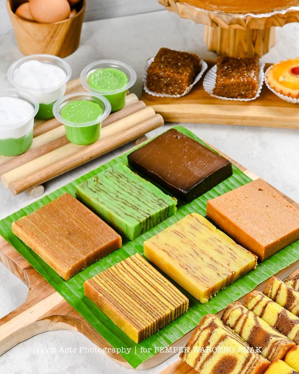 Memilih Kue Lapis Palembang