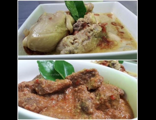 Yuk, Memasak Opor Ayam dan Rendang Daging Sapi, Menu Favorit Saat Lebaran