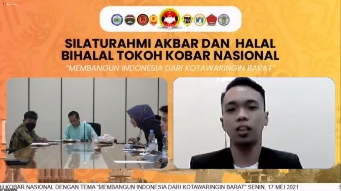 Silaturahmi Akbar dan Halal Bihalal Tokoh Kobar Nasional, Ketua HIMA Kobar Palangka Raya Sampaikan Pesan Ini