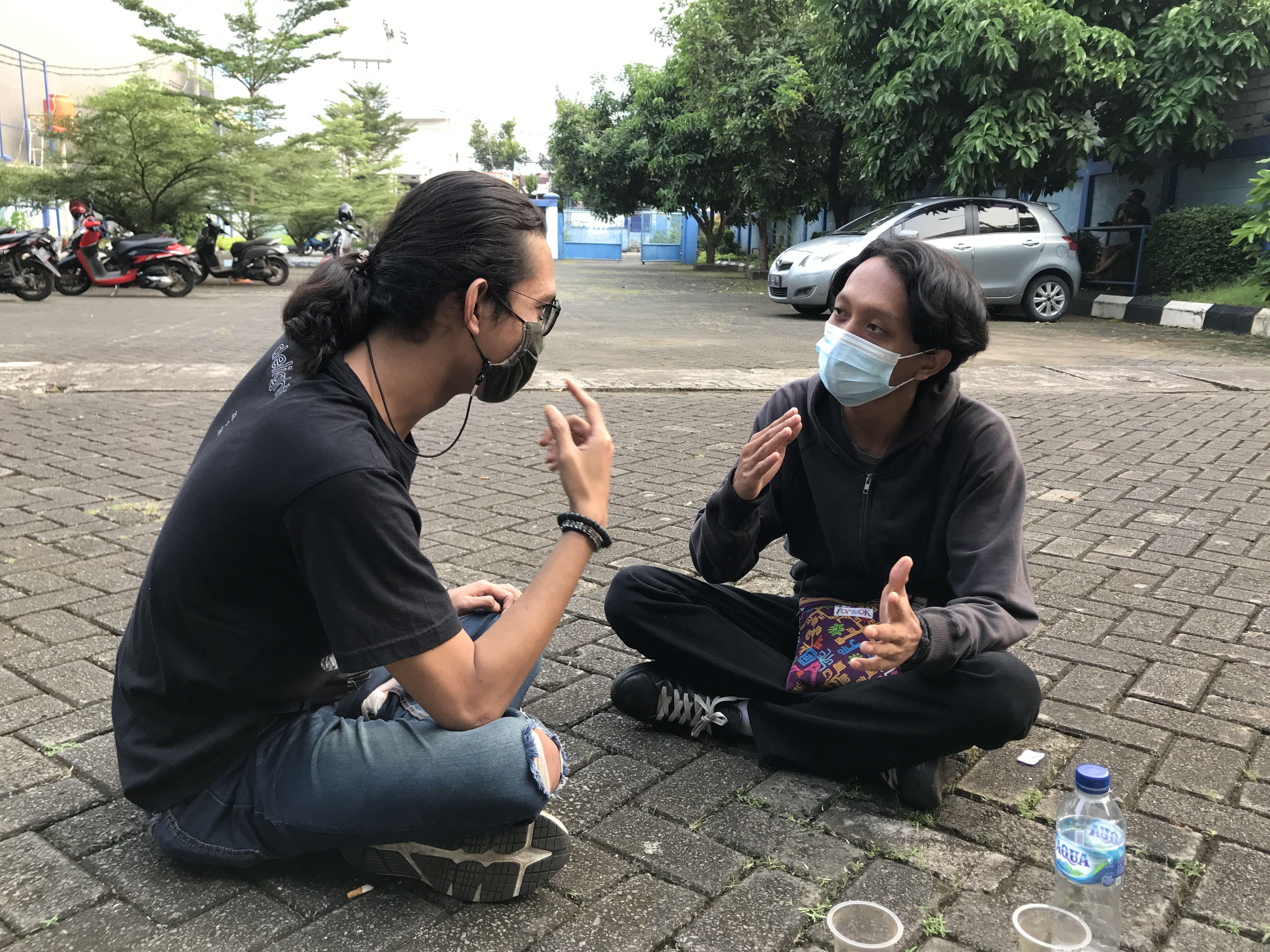 Salah Satu Mahasiswa Menolak Mudik, Sesuai Penetapan Yang Diberlakukan Pemerintah
