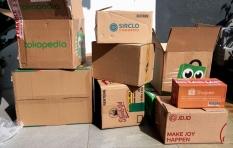 Cara Ubah Kardus Belanja Online agar Tak Jadi Sampah
