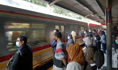 Aksi Copet yang Berulang di KRL Commuterline