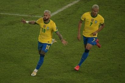 Cara Brasil Memperlakukan Neymar agar Juara Copa America 2021