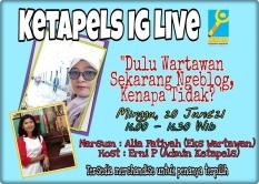 [Event Online] Ketapels Instagram Live