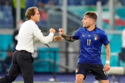"Sosok Roberto Mancini sebagai Pelatih Jenius ""Gli Azzurri"" Italia"
