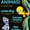 KOMiK Helat Pekan Animasi, Ada Lomba Blog dan Kuis Medsos Juga Lho!