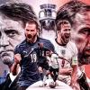 """Tanpa """"Diving"""", Kunci Italia Hadapi Inggris di Final Euro 2020"""