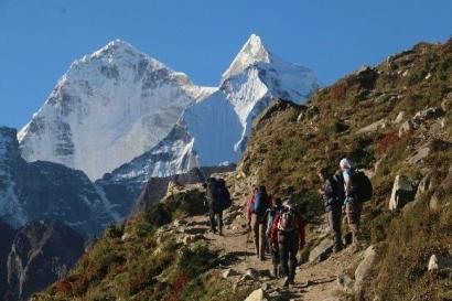 Menggapai Atap Dunia, Everest Base Camp 5365m