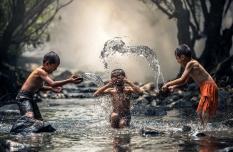 Mengenang Ular Berjanggut Putih dan Salto di Sungai Takir Banyuwangi