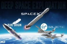 SpaceX, Virgin Galactic dan Blue Origin Buktikan Impian Jadi Kenyataan