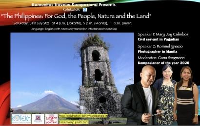 Ikut Koteka Piknik Virtual ke Filipina, Yuk!