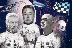 Space Race, Ajang Penaklukkan Ruang Angkasa bagi Para Miliarder