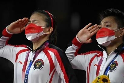 """The Power of Sabar"" Berujung Emas Olimpiade, Kado Manis Greysia/Apri untuk 76 Tahun Indonesia"