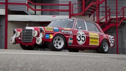 """Mengenang 50 Tahun Kemenangan """"Red Pig"""", Mobil Pertama AMG, di Spa Francorchamps"""