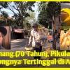 Pak Anang (70 Tahun), Pikulan Tape Singkongnya Tertinggal di Angkot