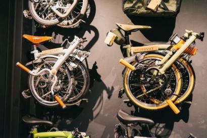 """Brompton, Sepeda Lipat """"Sultan"""" yang Kini Harganya Terjun Bebas"""
