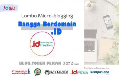 [KJOG] Lomba Microblogging Bangga Berdomain ID