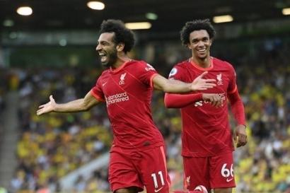 """Liverpool Vs Man United: Ancaman Mohamed Salah dan Tuah """"Penyelamat"""" Cristiano Ronaldo"""