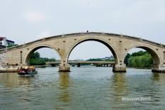 Berperahu di Grand Canal Suzhou