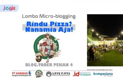 """[KJOG] Lomba Microblogging """"Rindu Pizza? Nanamia Aja!"""""""