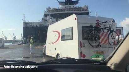 Berpetualang dengan Caravan Seberangi Lautan ke Yunani