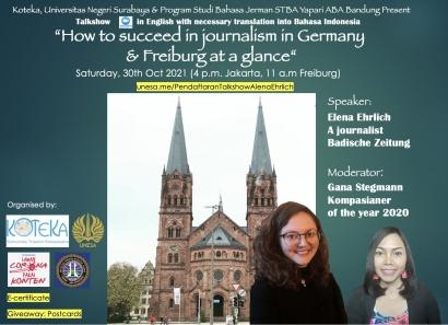 Belajar tentang Jurnalisme di Jerman dan Mengintip kota Freiburg, Yuk!