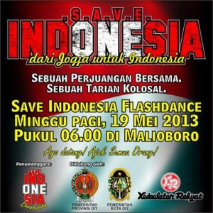 "Malioboro Menari ""Save Indonesia Flashdance"""