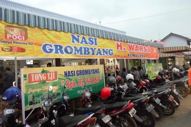 Nasi Grombyang, Kuliner Khas Kota Pemalang yang Mak Nyuss