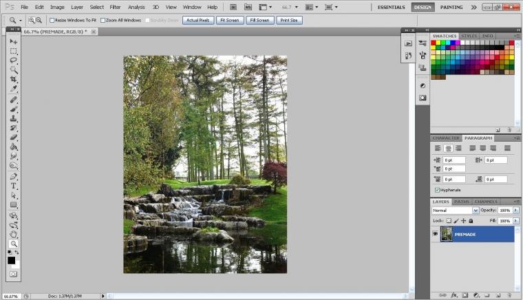 Tutorial Membuat Foto Biasa Menjadi Foto Infrared dengan Photoshop