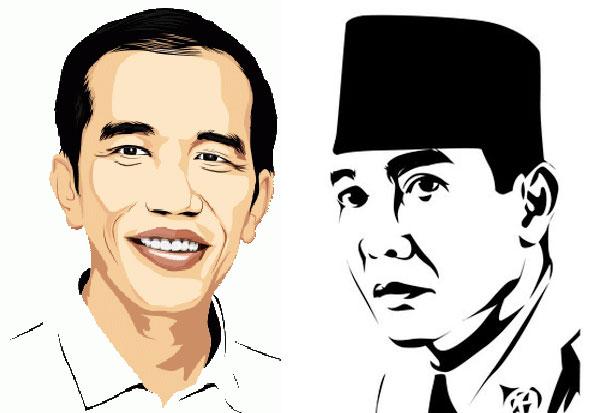 Jokowi  Reinkarnasi Bung Karno Kompasiana com