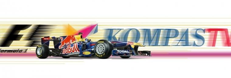 Hore! Kompas TV Siaran Langsung GP F1 Musim 2013