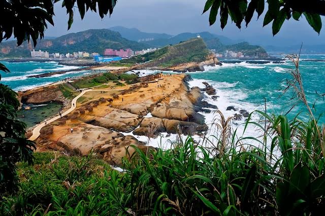 Yehliu Geopark; Kreasi Alam di Ujung Formosa