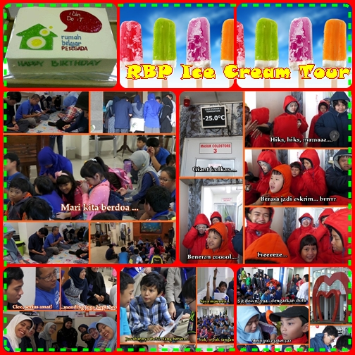 RBP Ice Cream Tour : Kulkas Raksasa dan Galeri Eskrim