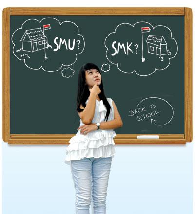 Pilih SMA atau SMK?