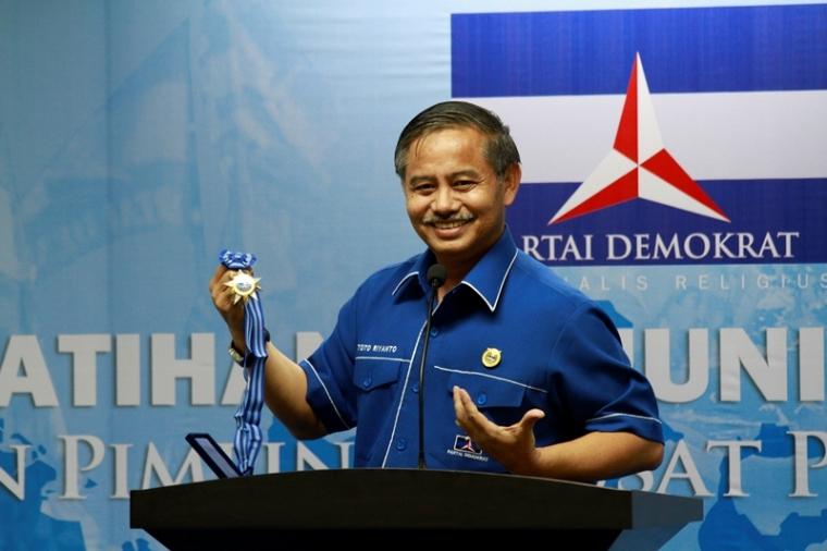 Marsdya Pur Toto Riyanto Salah satu Calon Kuat Ketum Demokrat