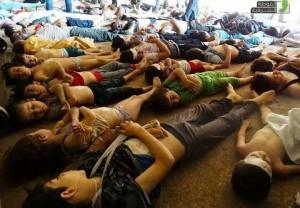 Inikah Korban Senjata Kimia yang Diinginkan Assad di Suriah