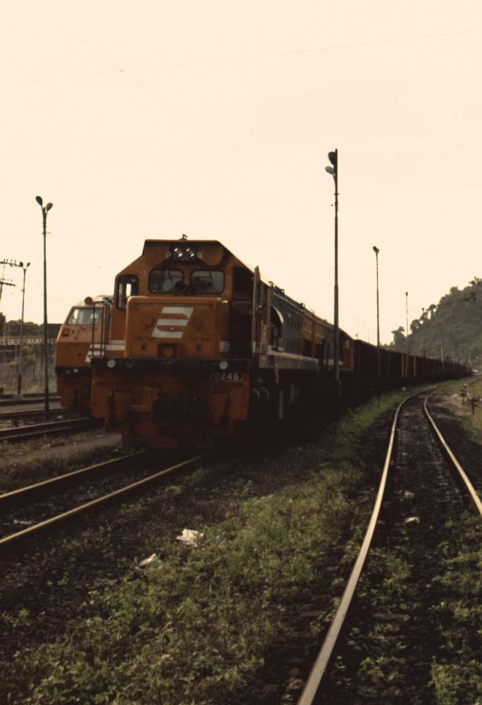 Babaranjang, Rangkaian Kereta Api Terpanjang di Indonesia