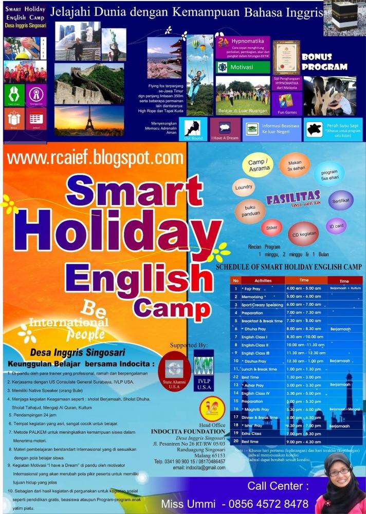 English Camp di DESA INGGRIS Singosari Malang bersama Indocita