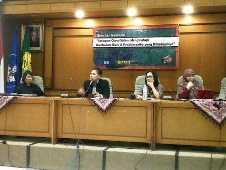 Kurikulum 2013, Benar-benar Ditelanjangi di Kampus UNJ oleh Praktisi Pendidikan (2)