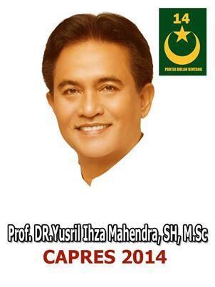 Yusril Ihza Mahendra dan Partai Bulan Bintang: Ihwal Gerakan Politik Islam di Indonesia Menuju Pemilihan Umum 2014