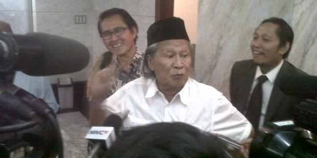 Ketika Ridwan Saidi tiba-tiba Menyerang Jokowi
