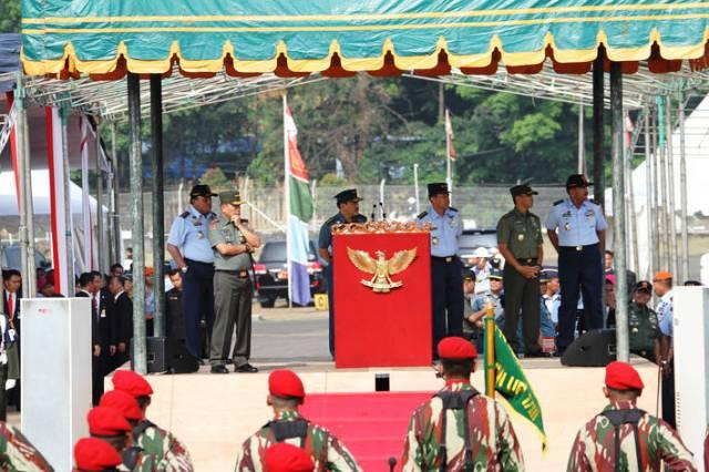 HUT Ke-68 TNI, Usung Tema Bersama Rakyat TNI Kuat