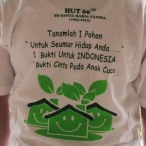 Jakarta Go Green di Ultah ke-60 SD Santa Maria Fatima