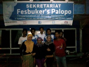 Kunjungan Kepala Biro Tribun Timur Kesekreat Fesbuker's Palopo