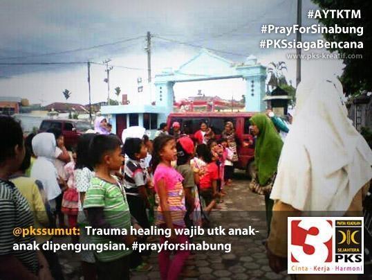 PKS = Peduli Korban Sinabung