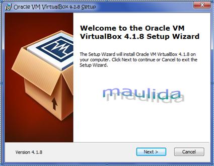 Menginstal VirtualBox pada Windows 7