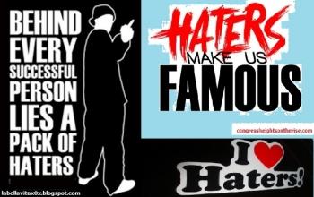 Haters Makin Dibenci Makin Menjadi Kompasianacom